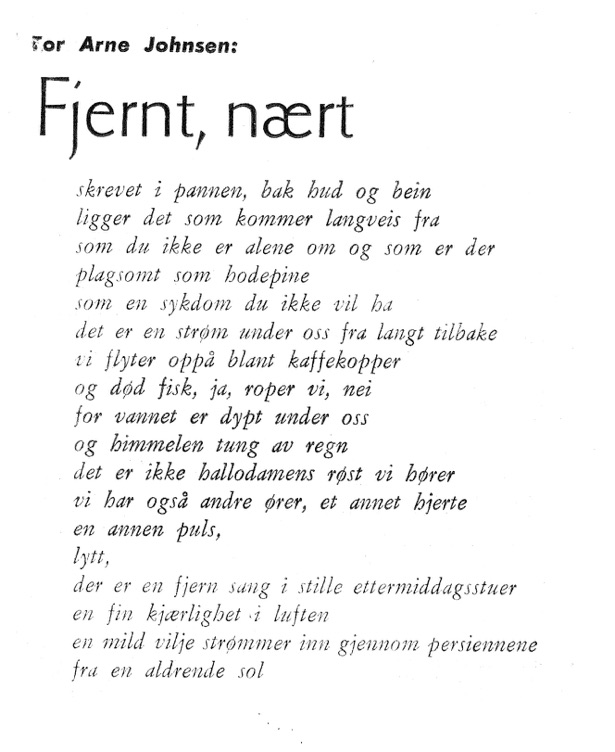 morsomme dikt om vennskap norweigian